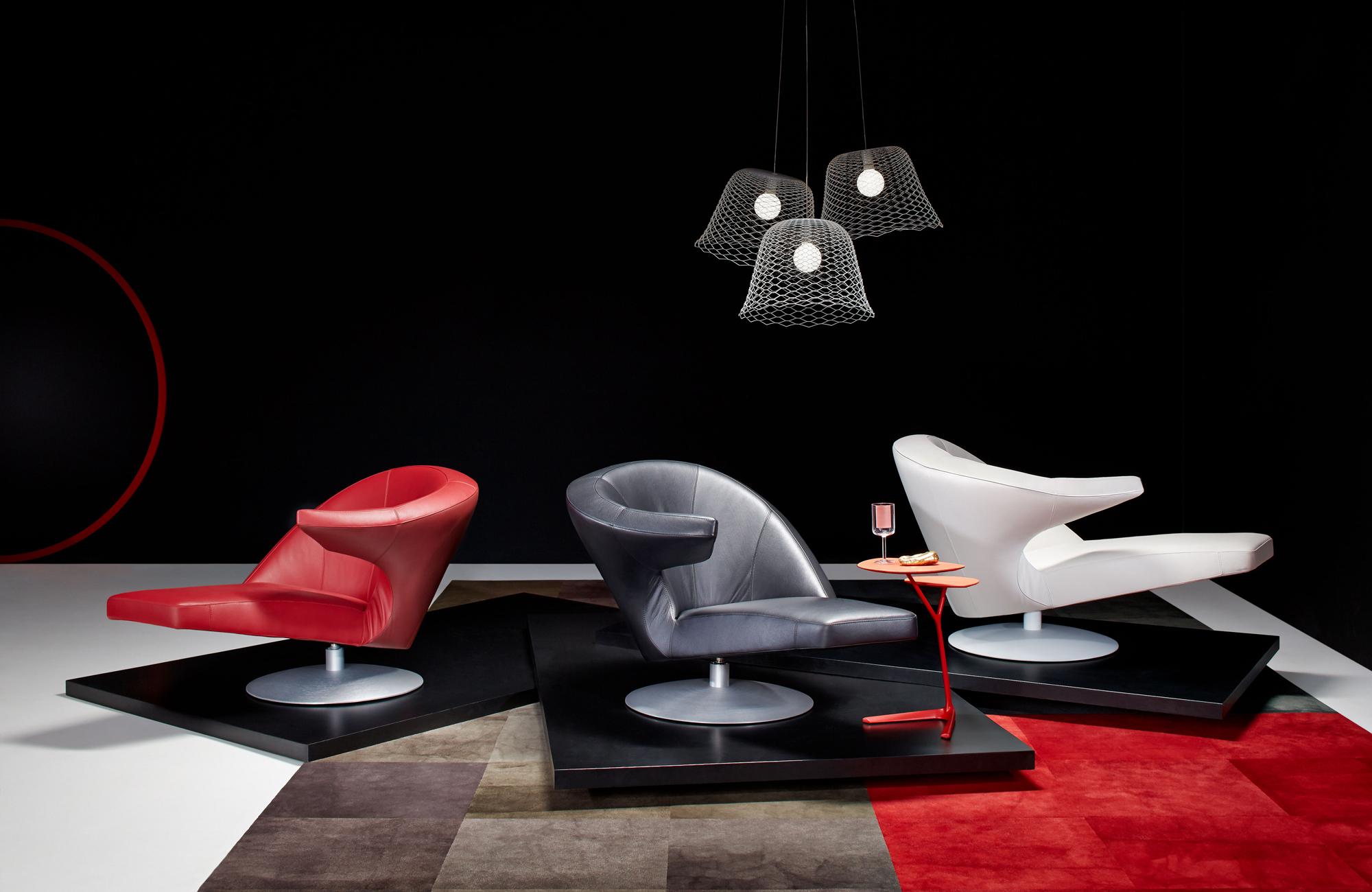 Кресло Parabolica от Leolux