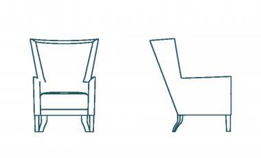 Кресло DON от JAB