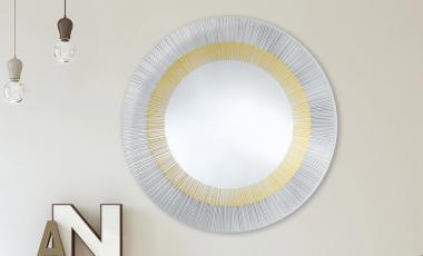 Зеркало YOKO BRONZE от DEKNUDT MIRRORS