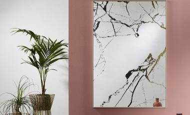 Зеркало MARBLE от DEKNUDT MIRRORS