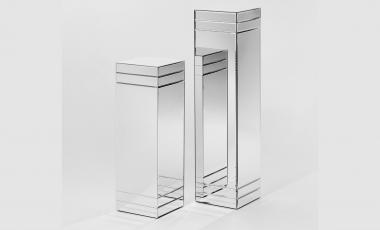Зеркальная подставка Ribbon от DEKNUDT MIRRORS