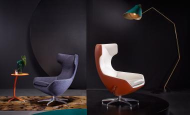 Кресло Caruzzo от Leolux