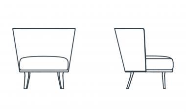Кресло POLO COCKTAIL от JAB