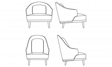 Кресло BELLINI от JAB