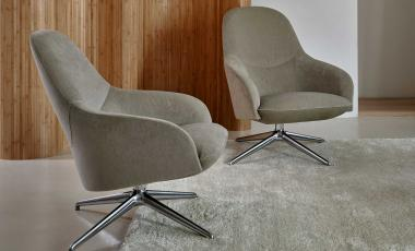 Кресло Lanah от Leolux