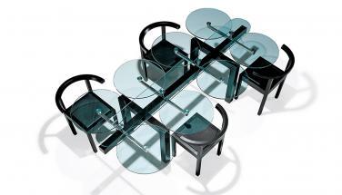 Стол Achter от Draenert